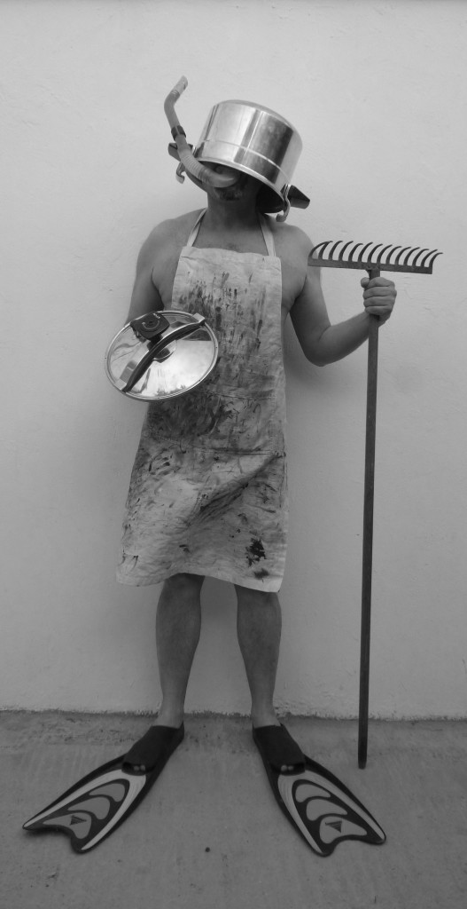 Soldier # 1, Summer Uniform, photography 170X76cm, May 2011