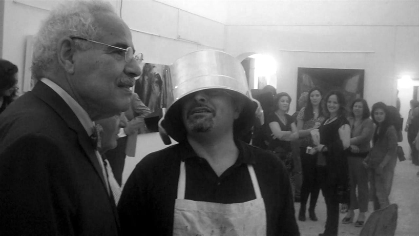 "Performance Solder # 1with the first Tunisian Minister of culture after ""Tunisian Spring"" .Video 4'"